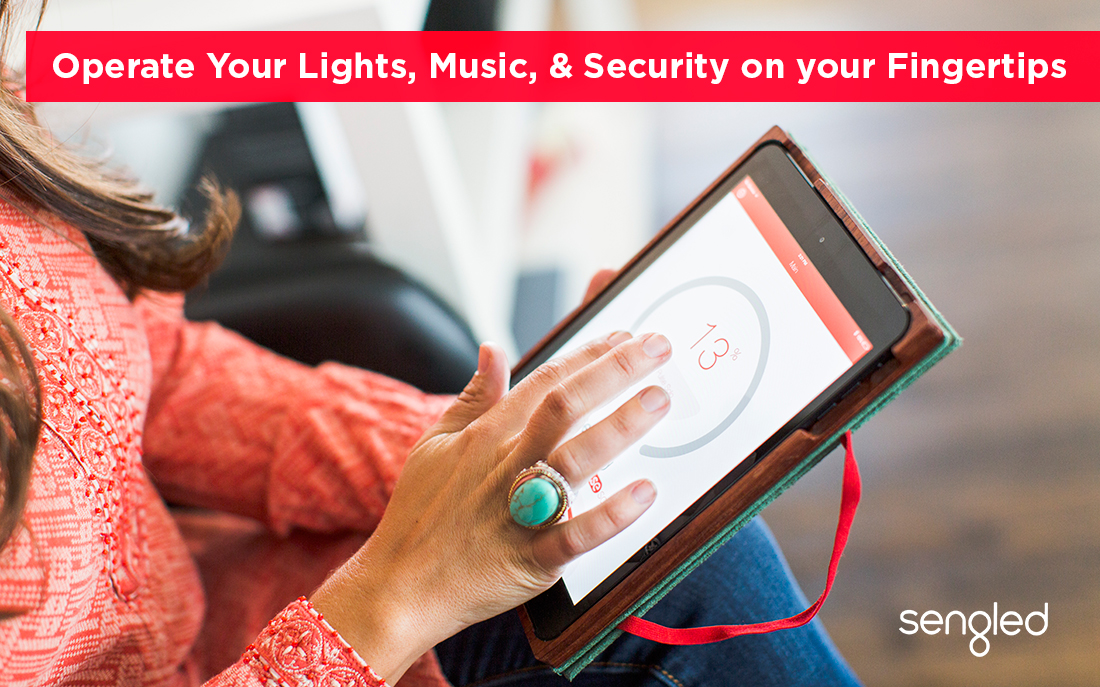 Operate Your Lights, Music, and Security on your Fingertips