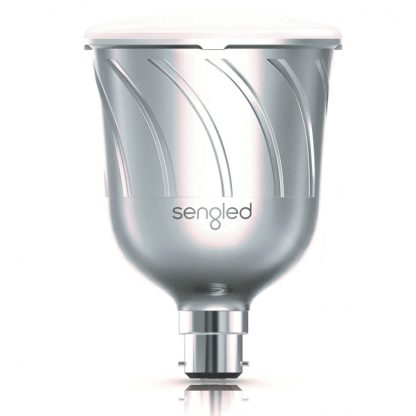 Sengled-Pulse-silver-LED-bulb-JBL-speaker
